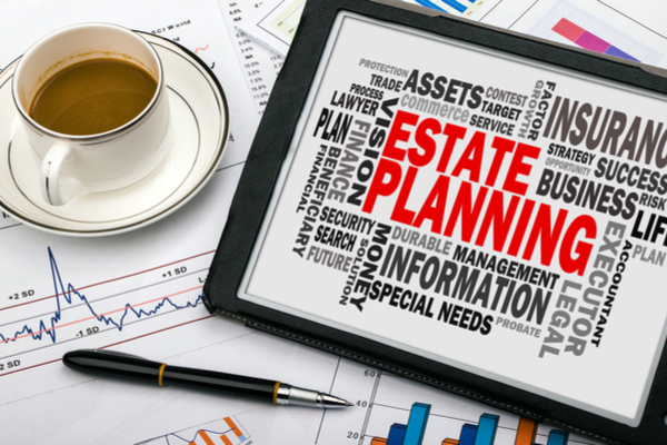 Estate planning cloud tag